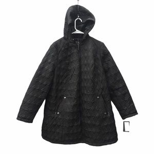NWT Weatherproof 2XL quilted hooded coat jacket